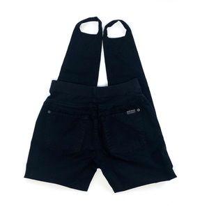 7 For all Mankind black jeans/jeggings Medium